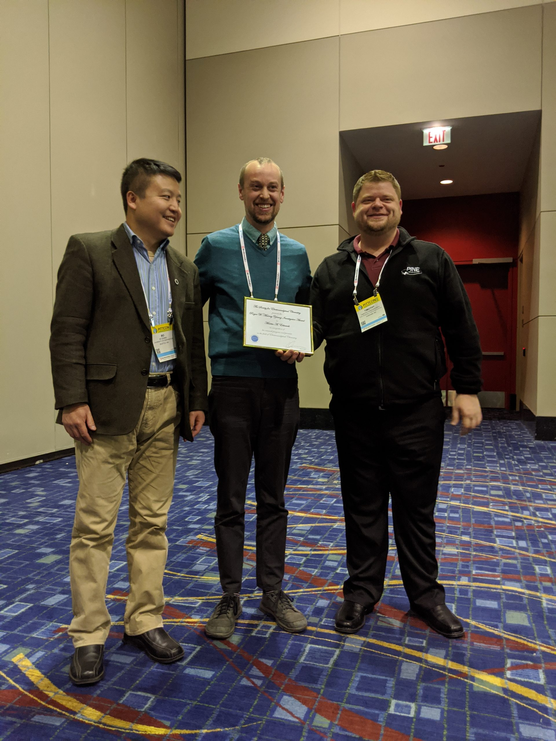 SEAC Award Symposium at Pittcon 2020 (Chicago, IL) – 9